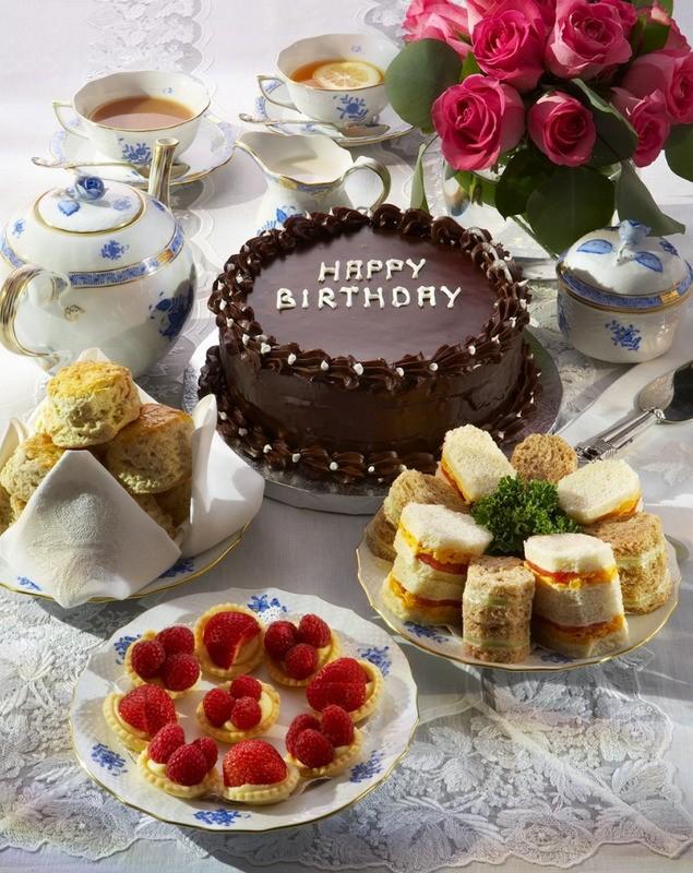чайный торт Ее Королевского Величества
