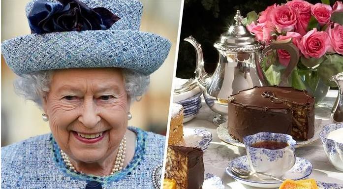 Королевский торт на День Рождения королевы Елизаветы II