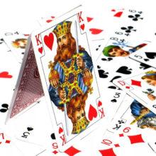 Гадание на четырех королей на игральных картах онлайн
