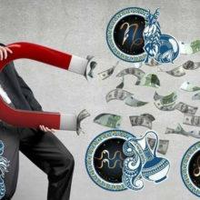 5 знаков Зодиака, к которым липнут деньги